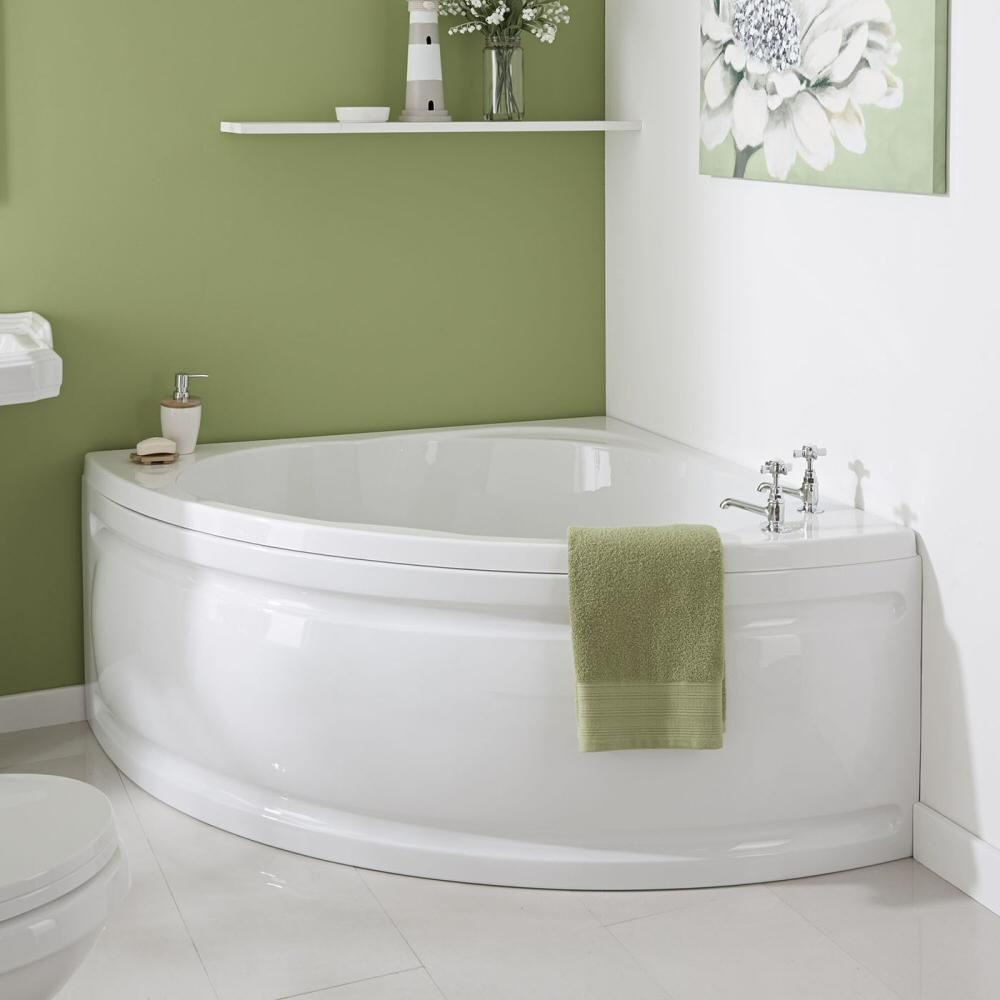 Угловая ванна полукруглаяУгловая ванна полукруглая