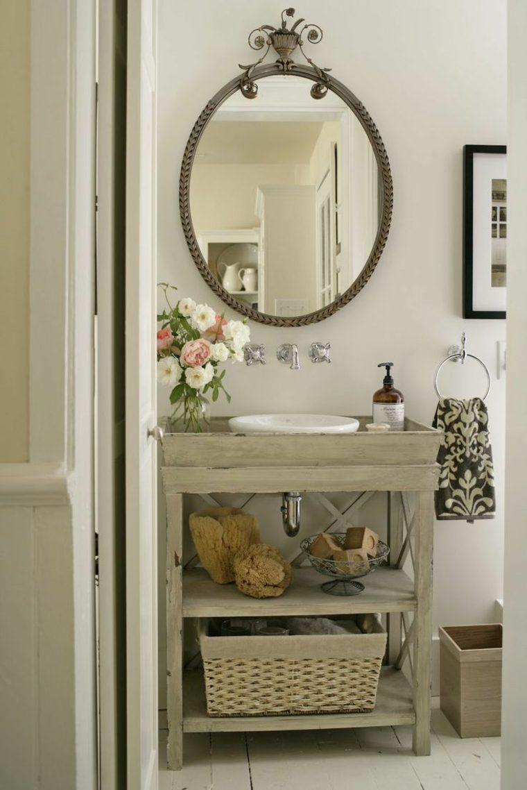 Идеи дизайна маленькой ванной в стиле прованс