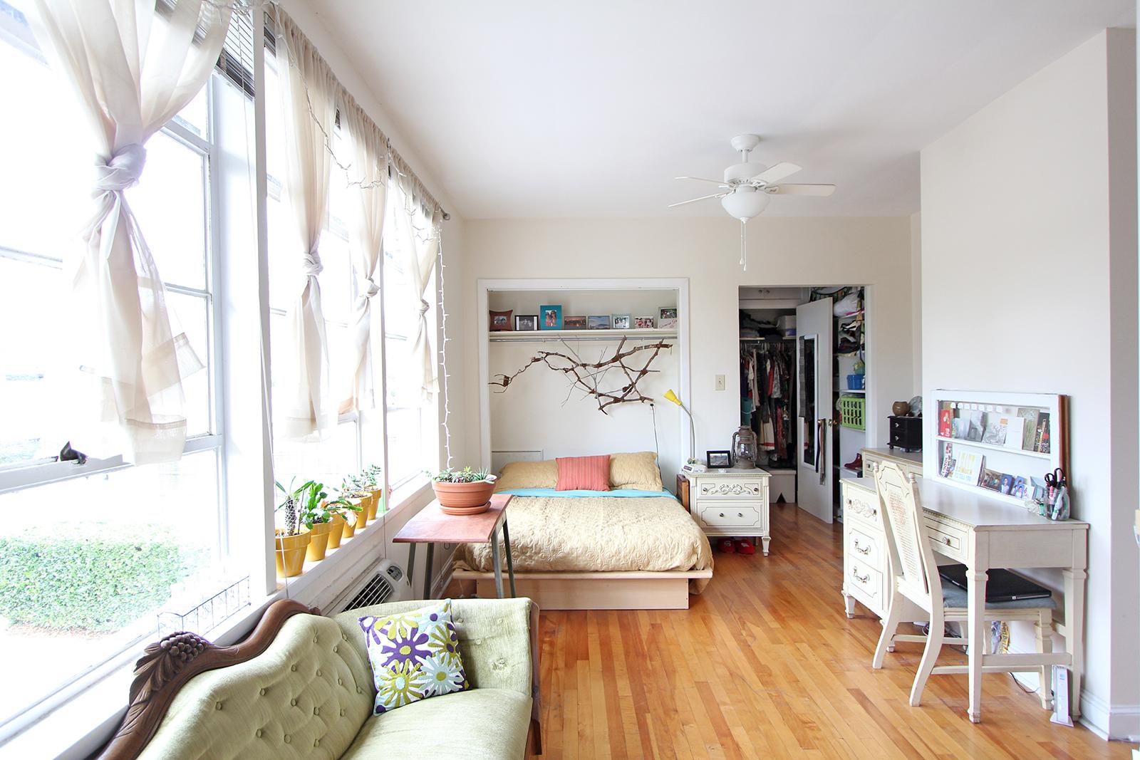 Детская в однокомнатной квартире расстановка мебели