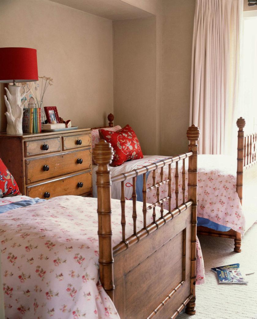 Детская комната в стиле прованс для разнополых детей