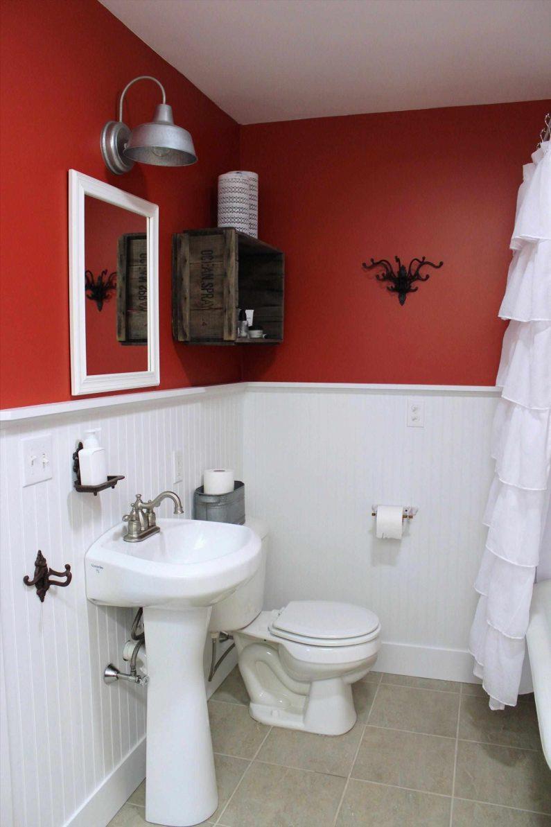 Ремонт красной ванной