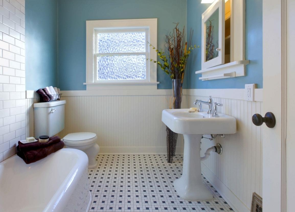 Ремонт в совмещенной ванной комнате
