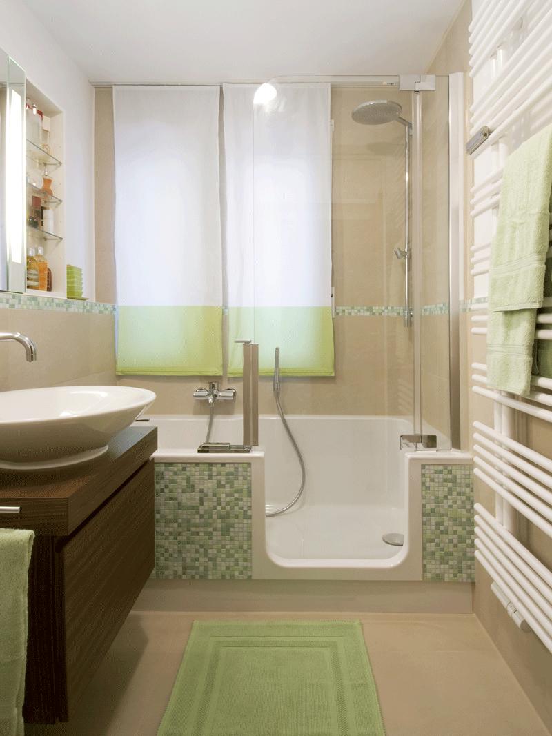 Идеи дизайна и ремонт маленькой ванной