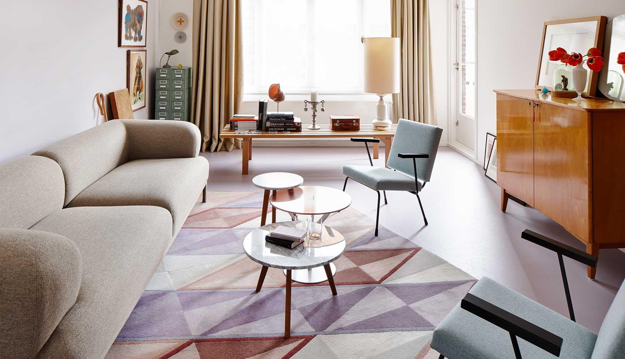 Дизайн однокомнатной квартиры в стиле ретро