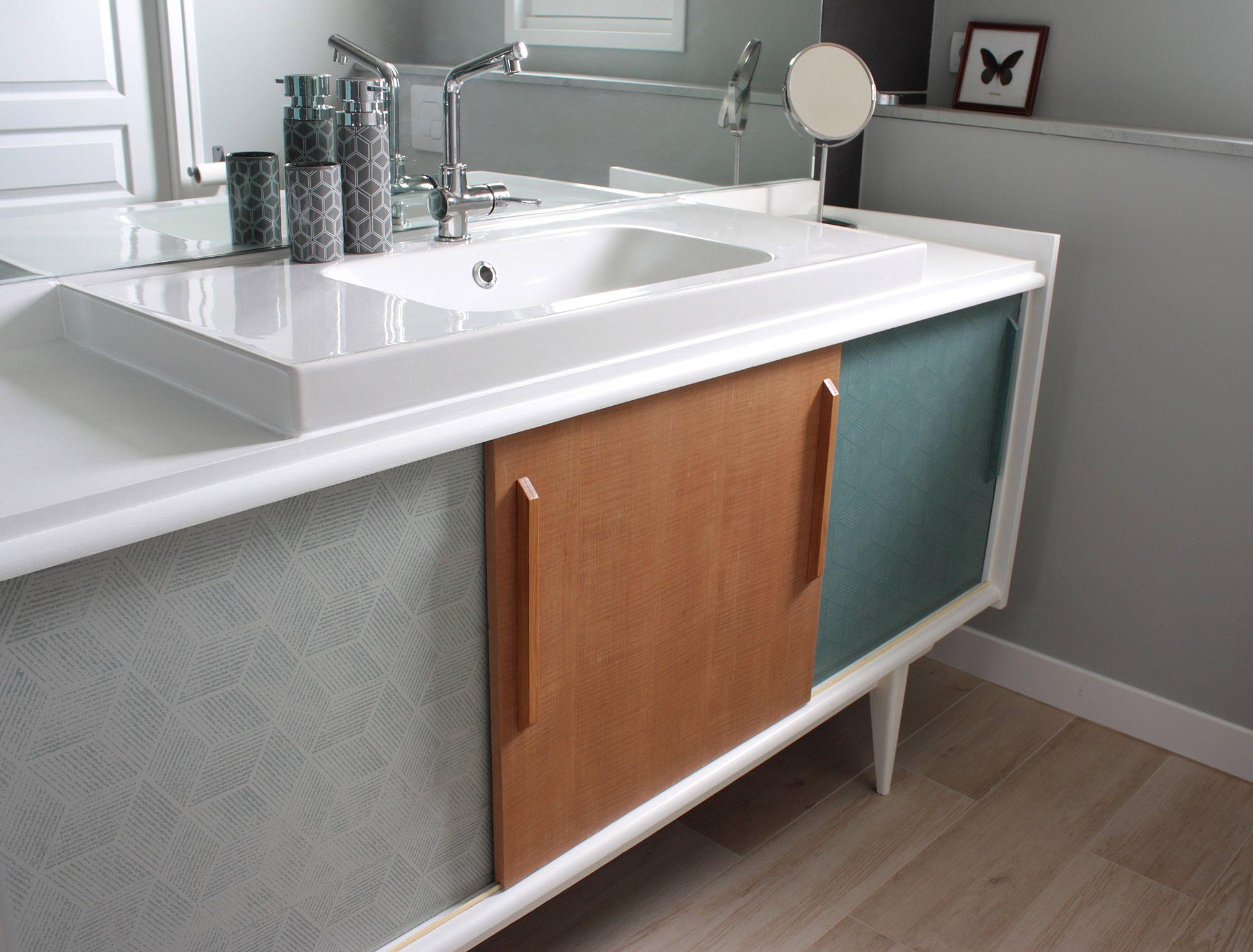Мебель для ванной с рисунком