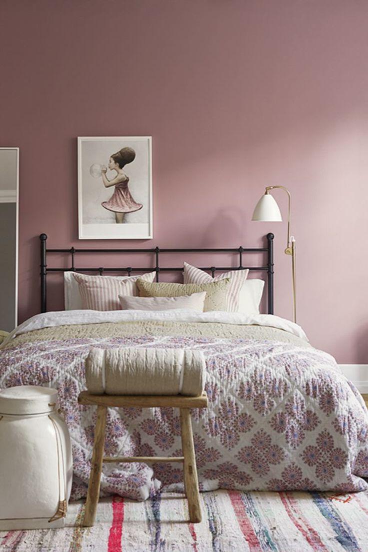 Маленькая спальня розовая