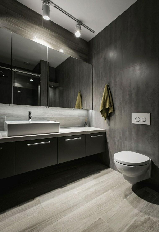 Зеркало в ванную комнату со скрытыми полочками