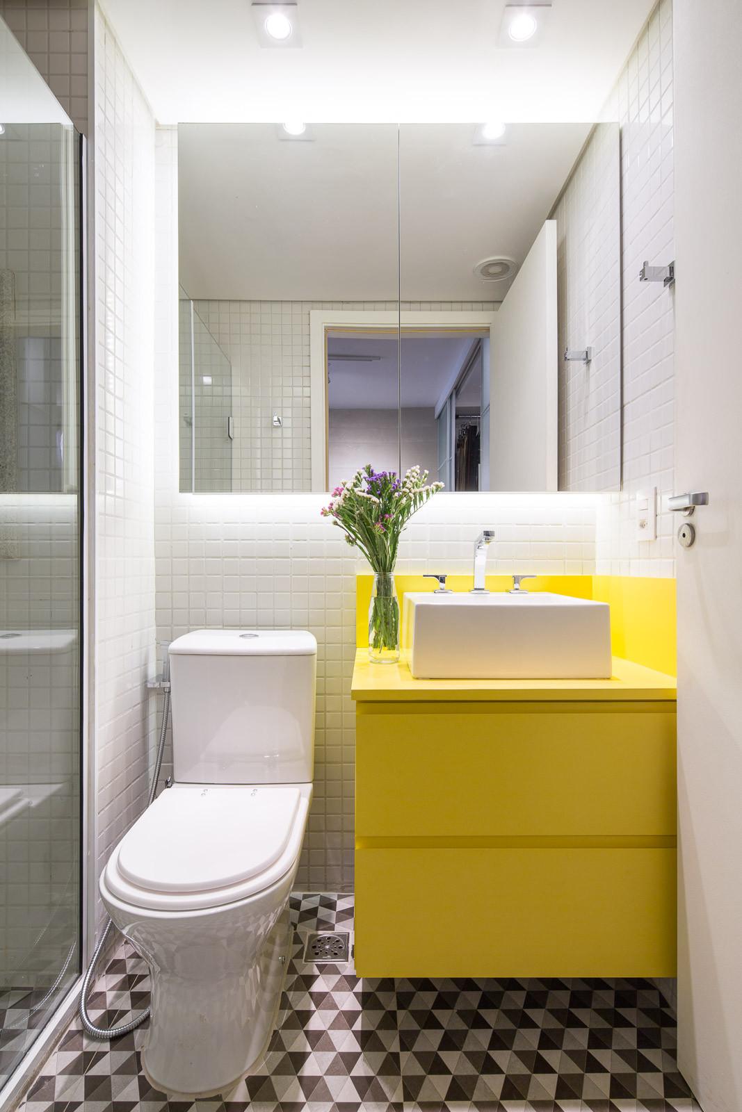 Идеи дизайна маленькой ванной современной