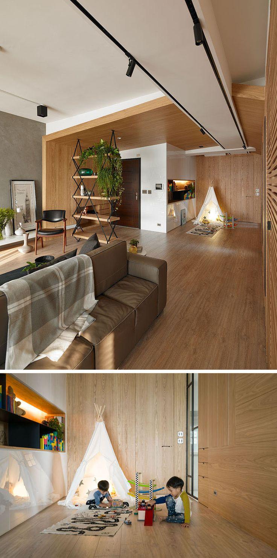 Детская в однокомнатной квартире студии