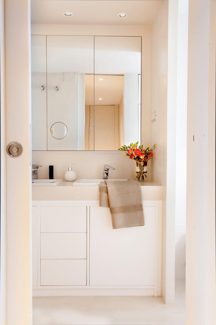 Зеркало в ванную комнату трехсекционное