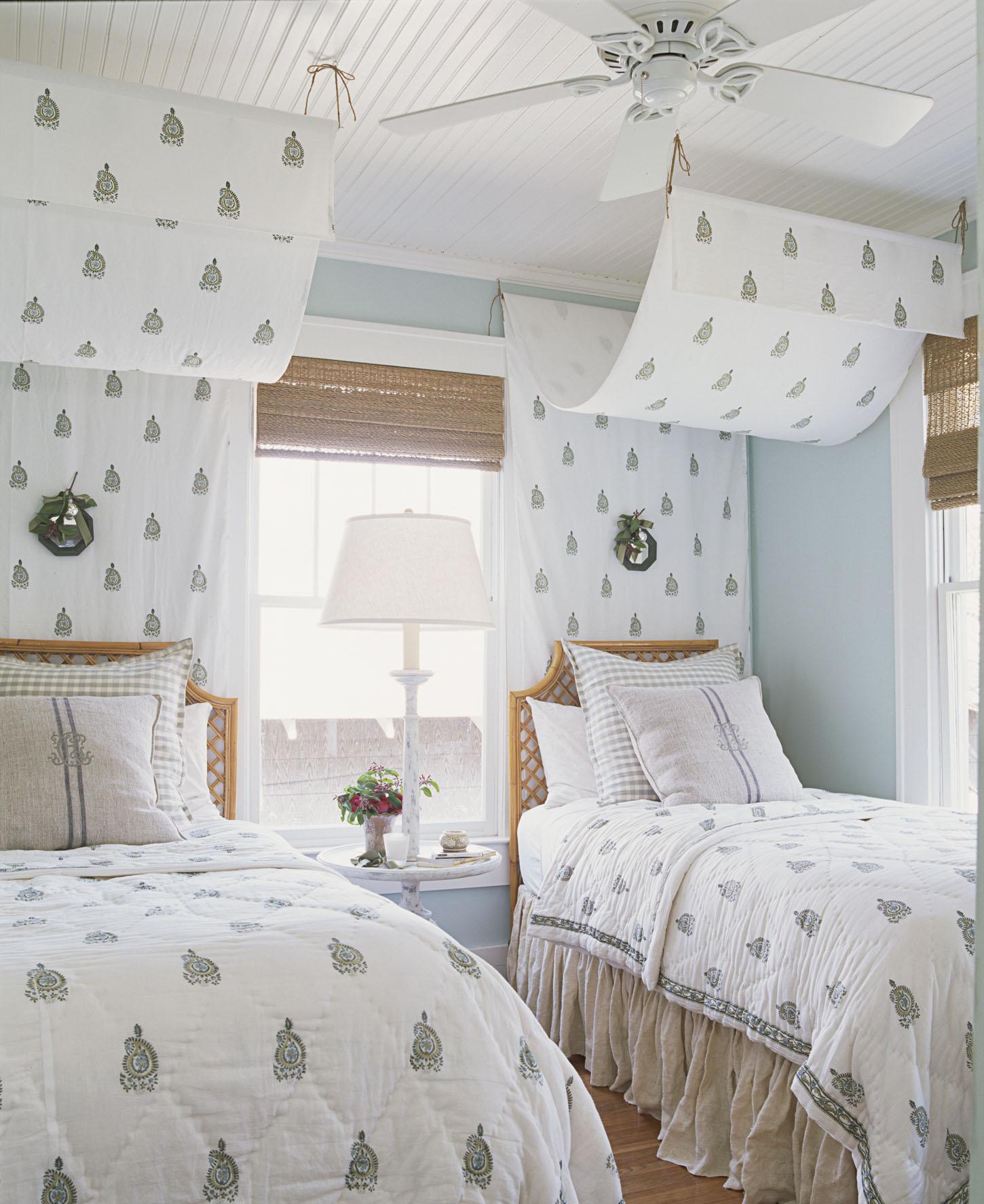 Детская комната в стиле прованс с текстилем