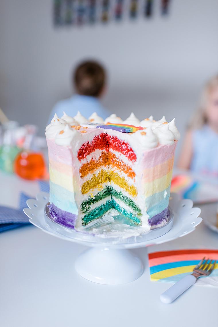Декор торта на детский день рождения