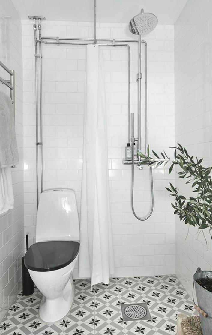 Ванная 4 кв м с открытым душем