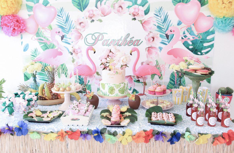 Оформление детского дня рождения в тропическом стиле