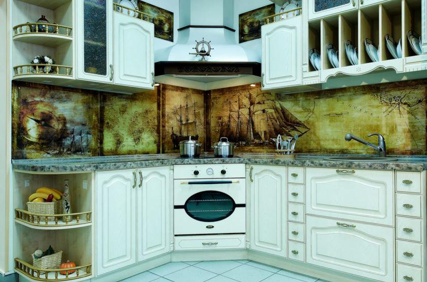 Замена угловых фасадов кухонного гарнитура