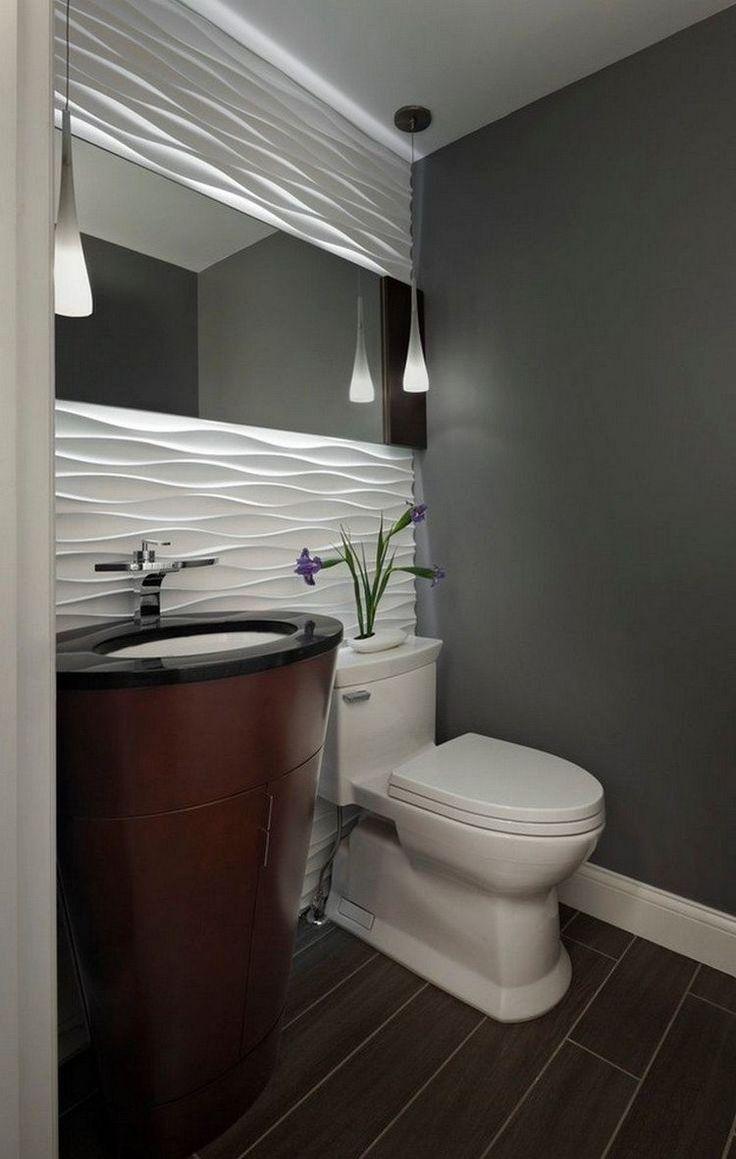 Зеркало в ванную комнату узкое