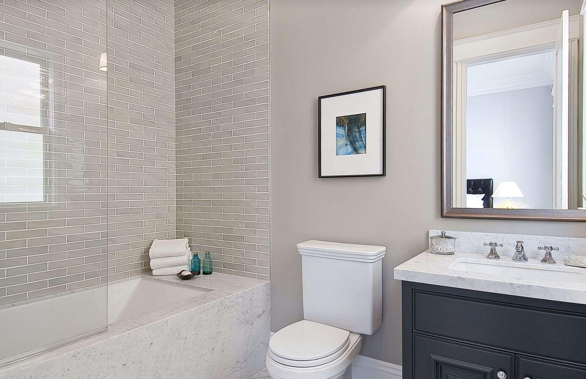 Совмещенная ванная комната 2019
