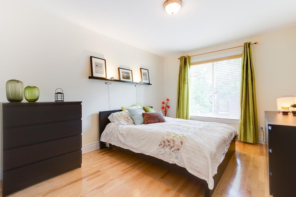 Маленькая спальня венге