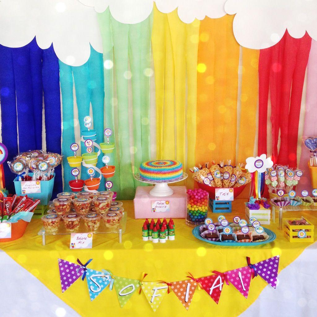Яркое оформление детского дня рождения