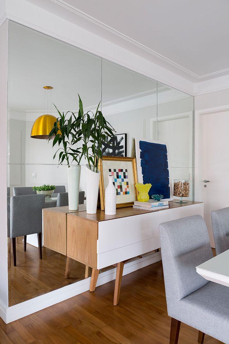 Дизайн однокомнатной квартиры с зеркалом
