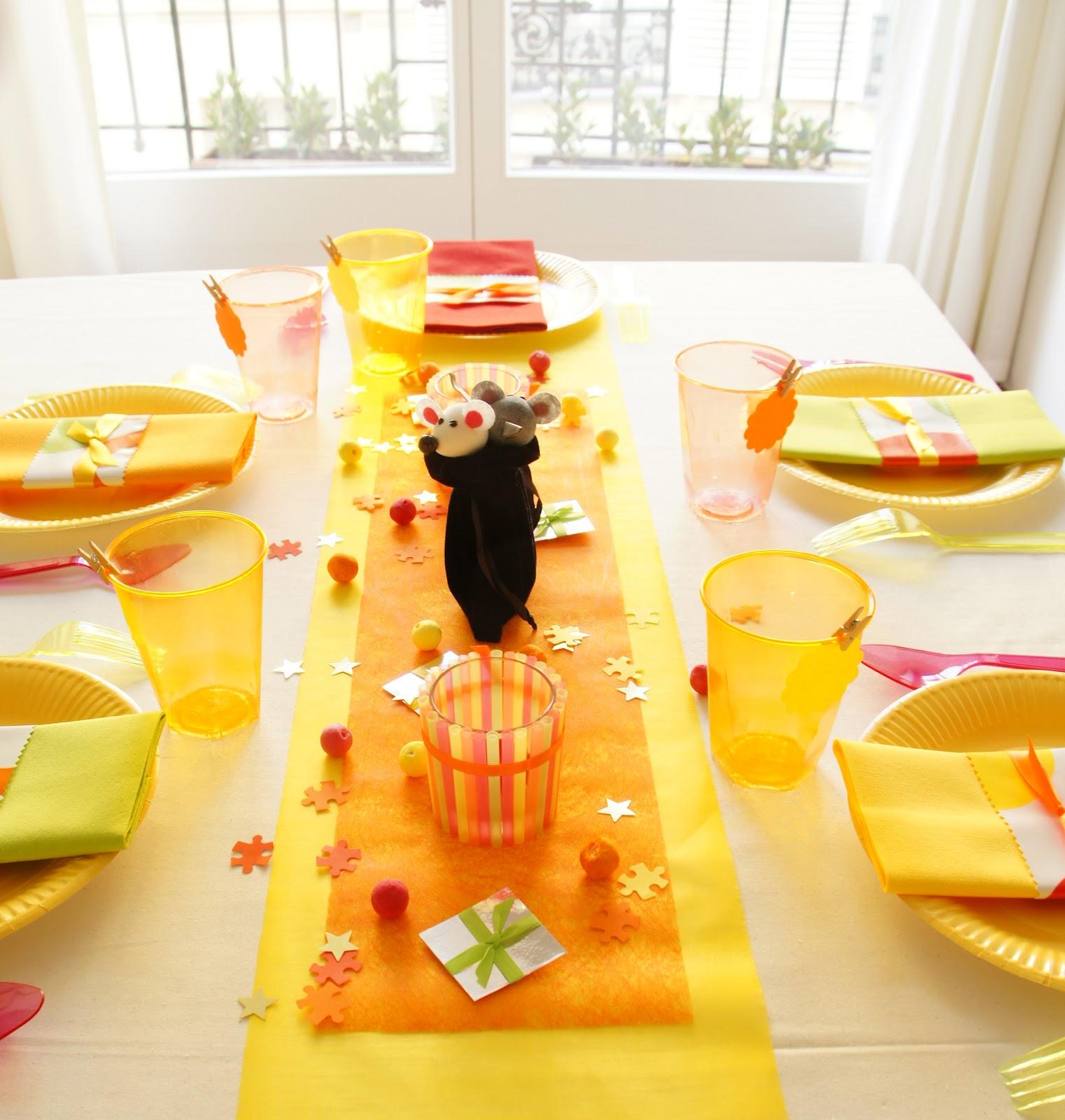 Оформление детского дня рождения в желтом цвете