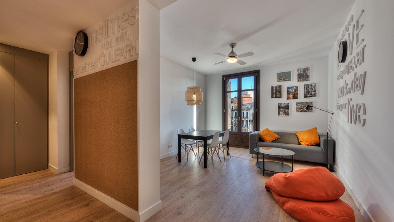 Дизайн однокомнатной квартиры зонирование