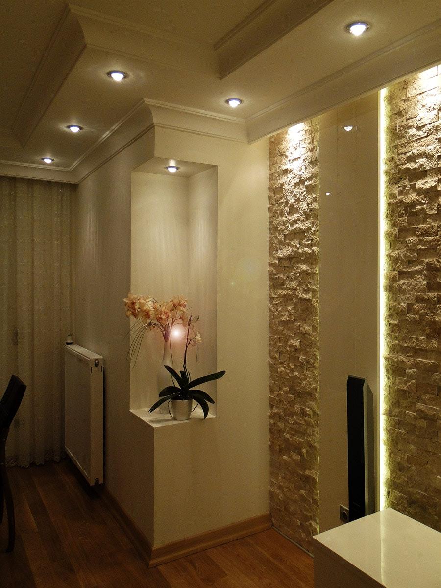 Ниша в комнате дизайн