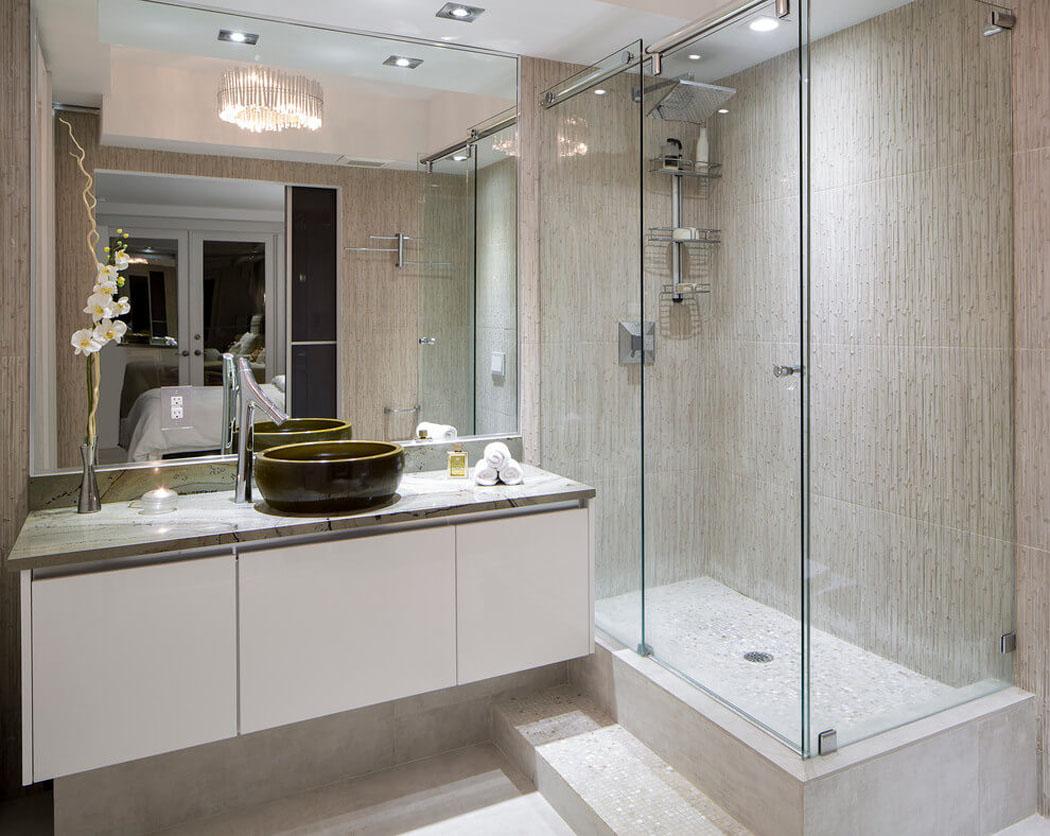 Ванная комната в современном стиле эко
