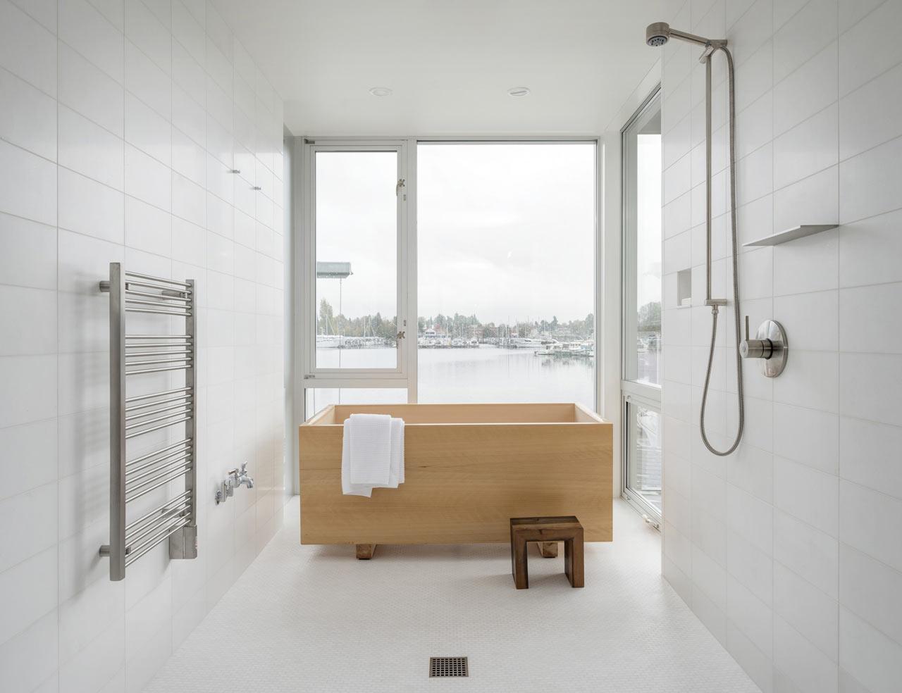 Ванная комната в современном стиле минимализм