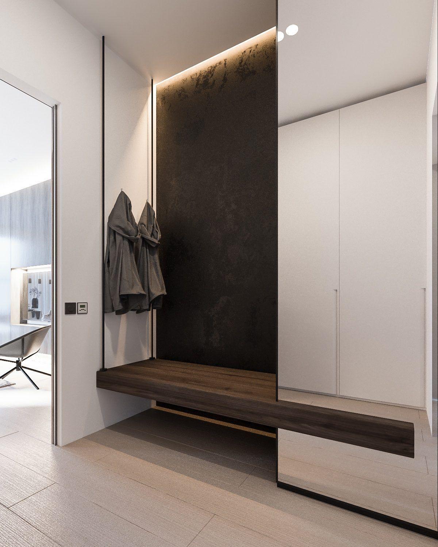 Шкаф в прихожую в стиле модерн