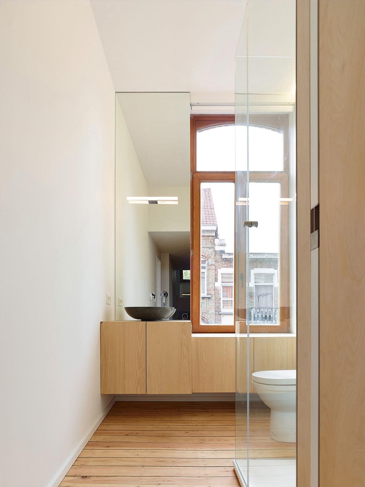 Ванная комната в современном стиле скандинавском