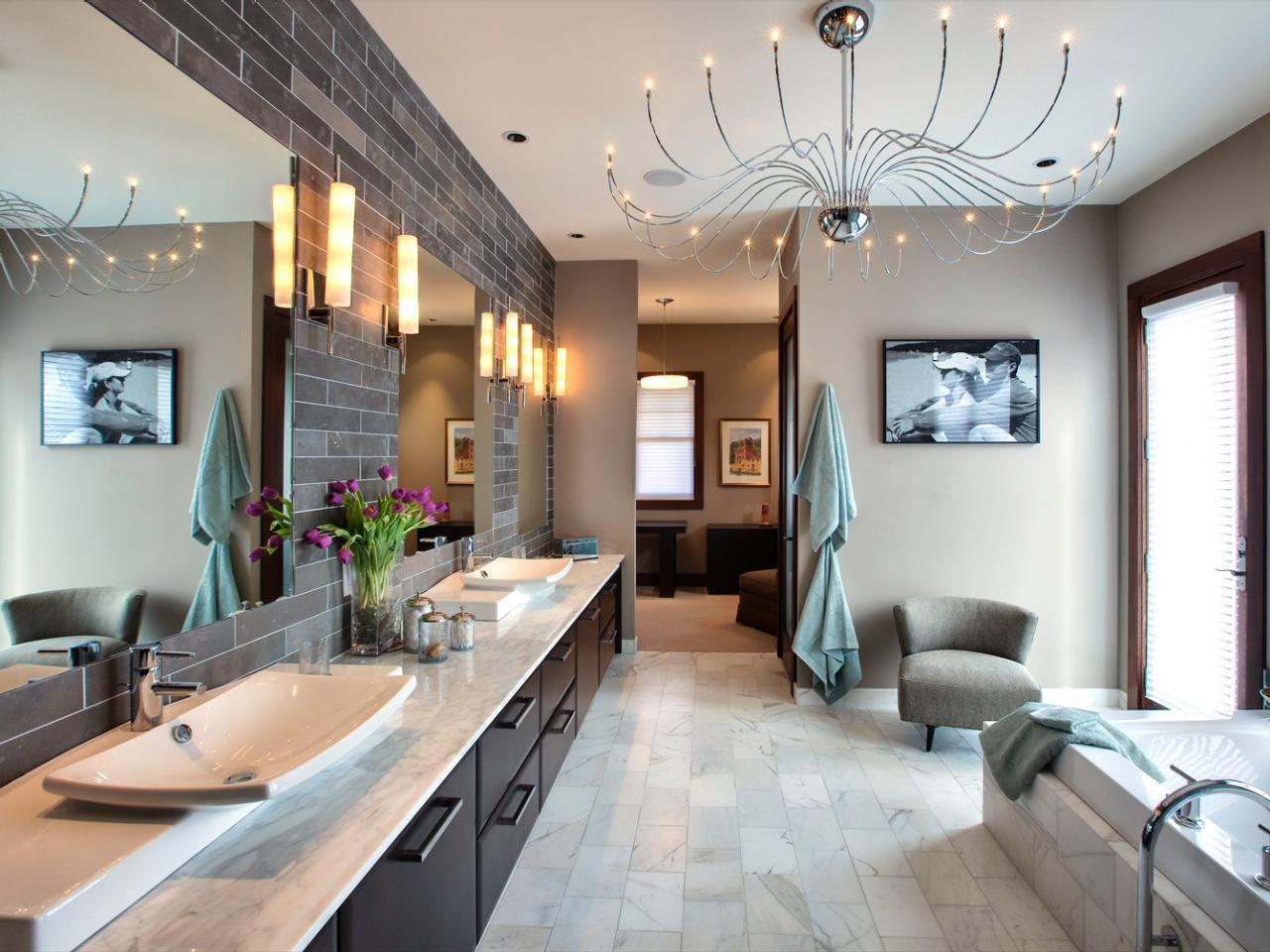 Ванная комната в современном стиле: какой интерьер соответствует времени (91 фото)