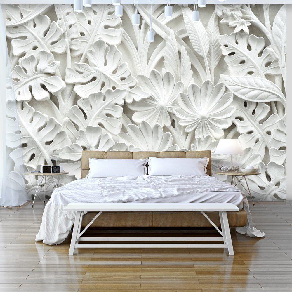 Фотообои белые 3d