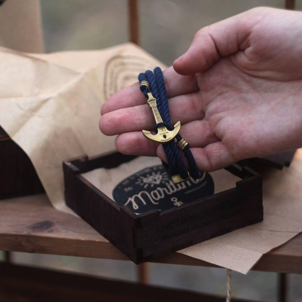 Подарки на 23 февраля своими руками браслет