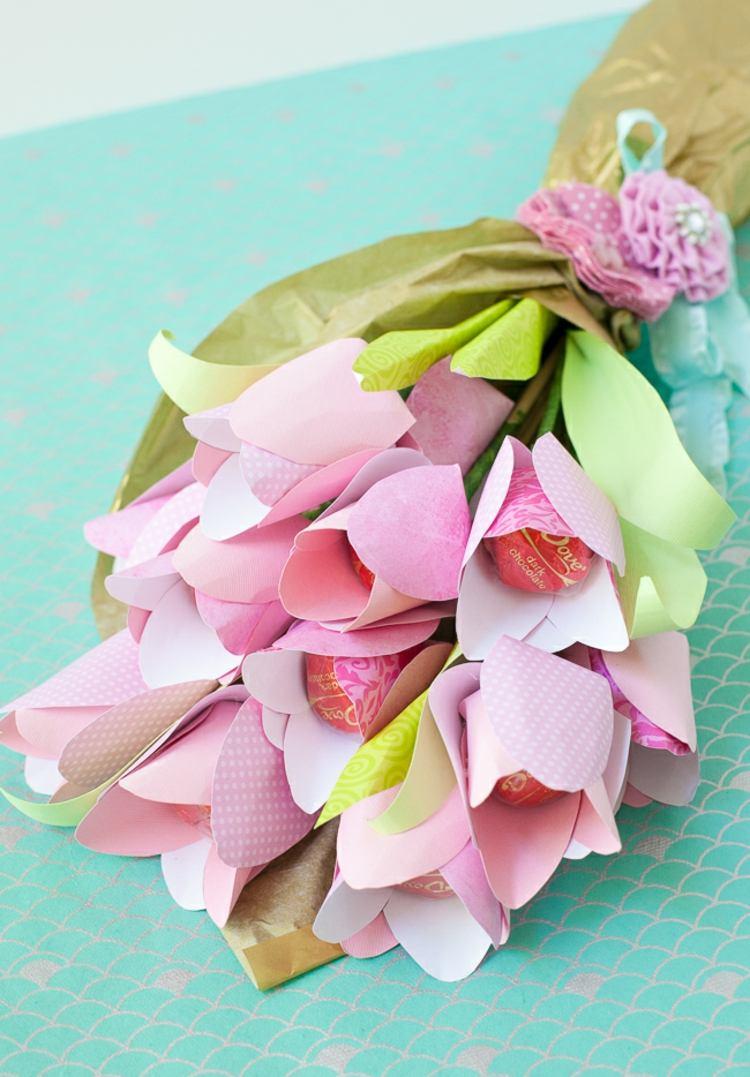 Поделка на 14 февраля цветы
