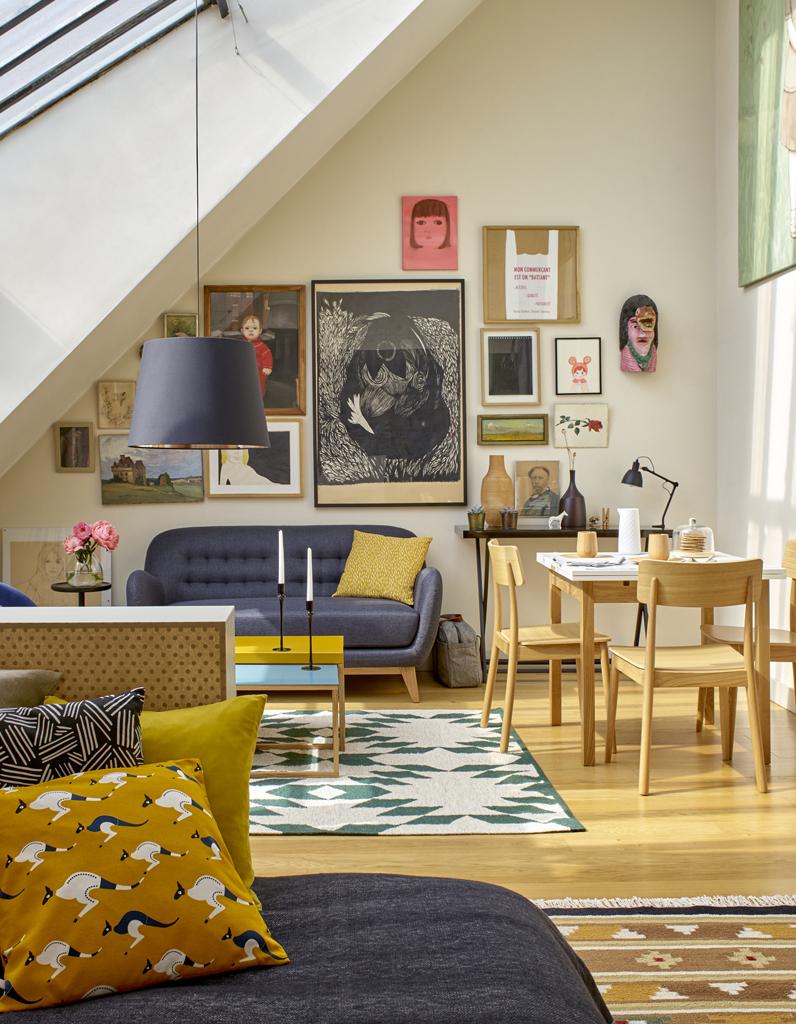 Расстановка мебели в квартире с декором