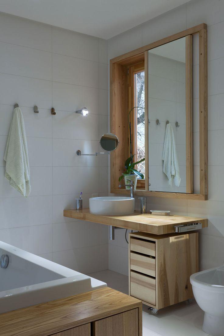 Ванная своими руками деревянная