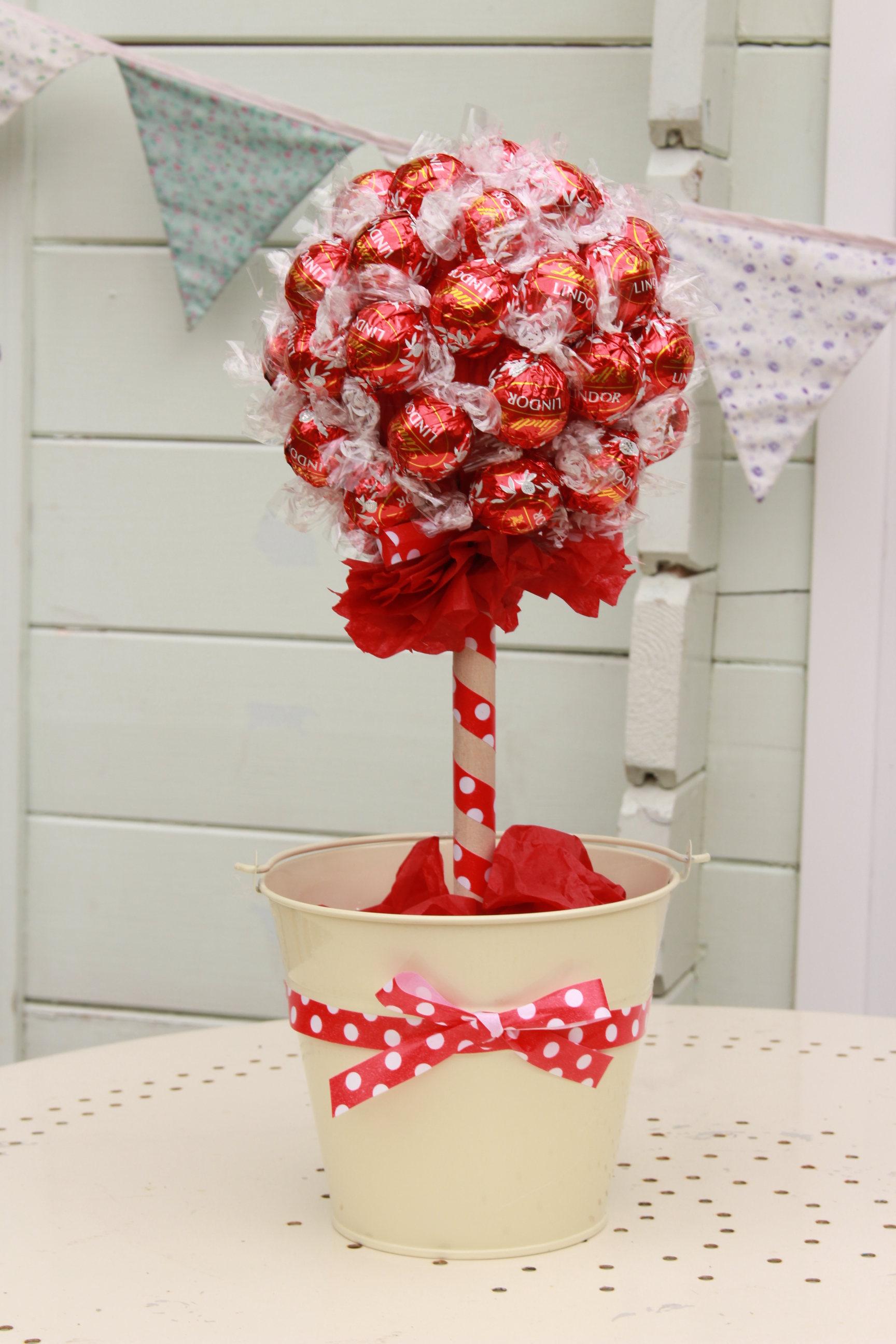 Подарок на 14 февраля своими руками дерево сладкое