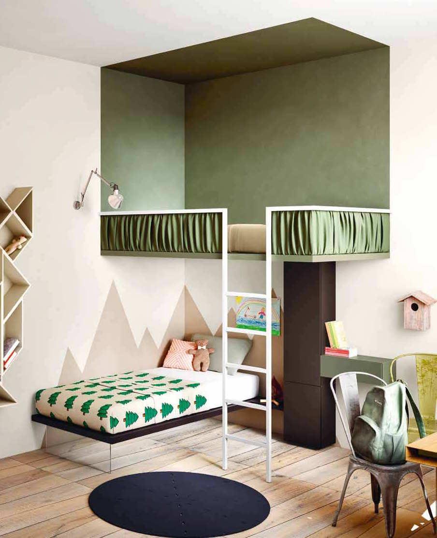 Кровать чердак дизайн