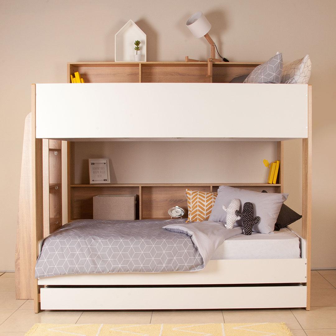 Кровать чердак с дополнительным спальным местом