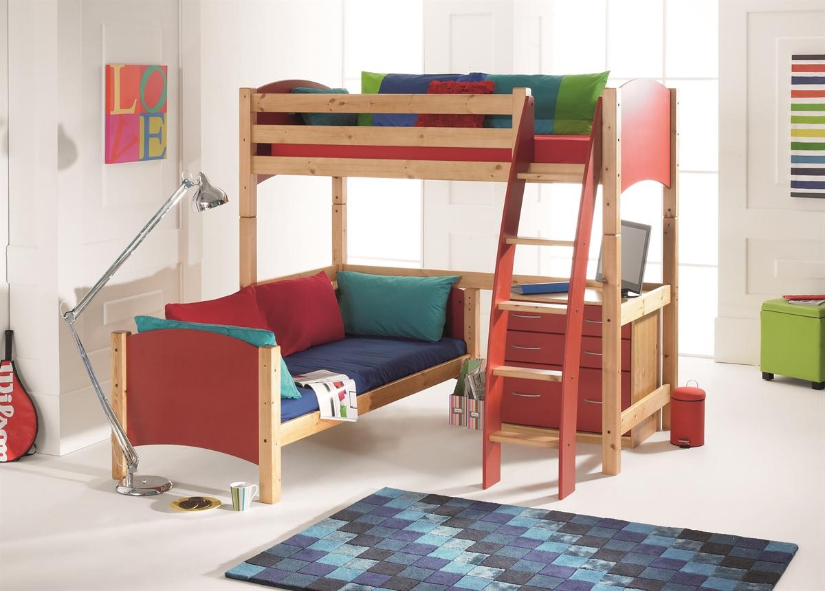 Кровать чердак для двоих
