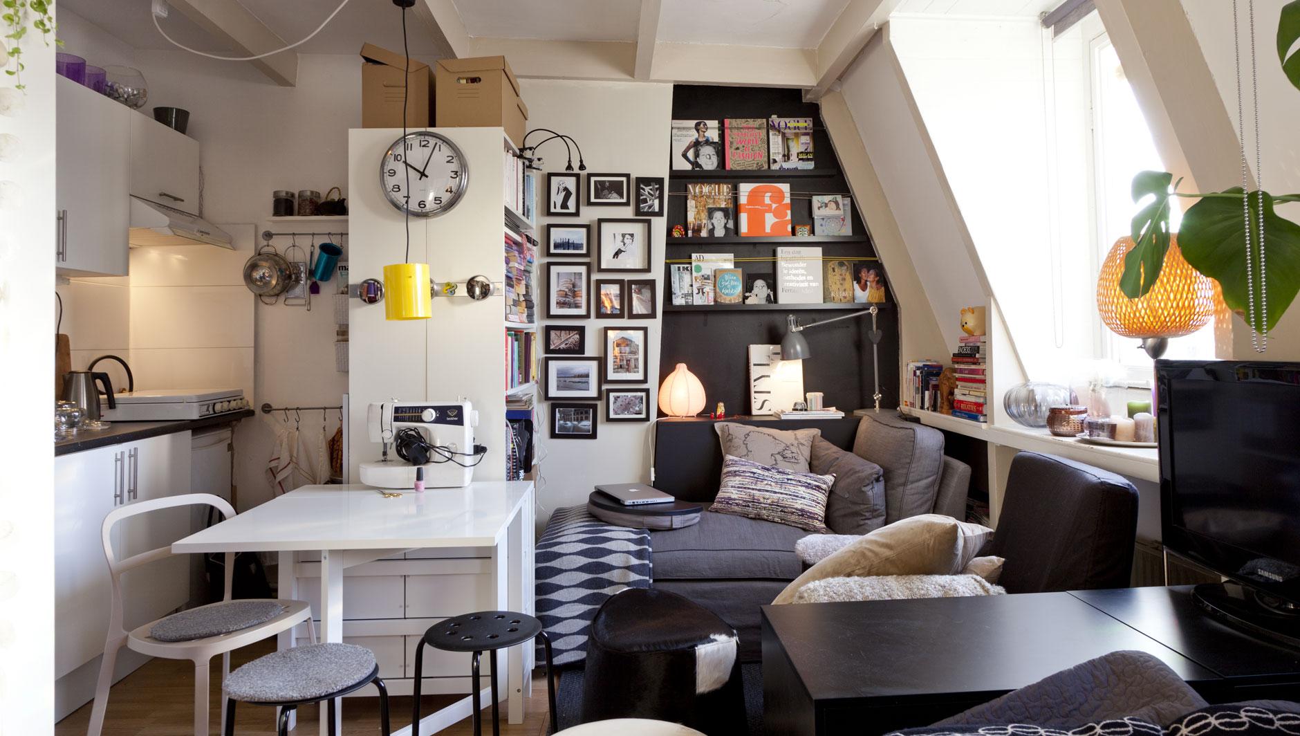 Как расставить мебель в однокомнатной квартире функционально