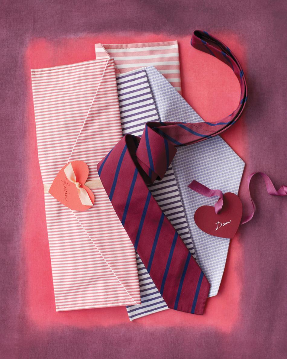 Подарок на 14 февраля своими руками галстук
