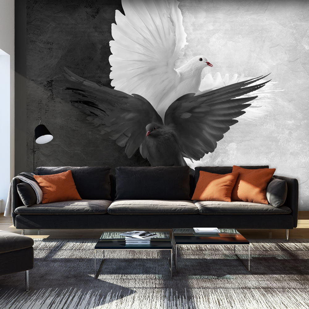 Фотообои голуби
