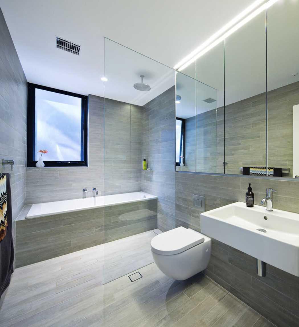 Большая ванная интерьер