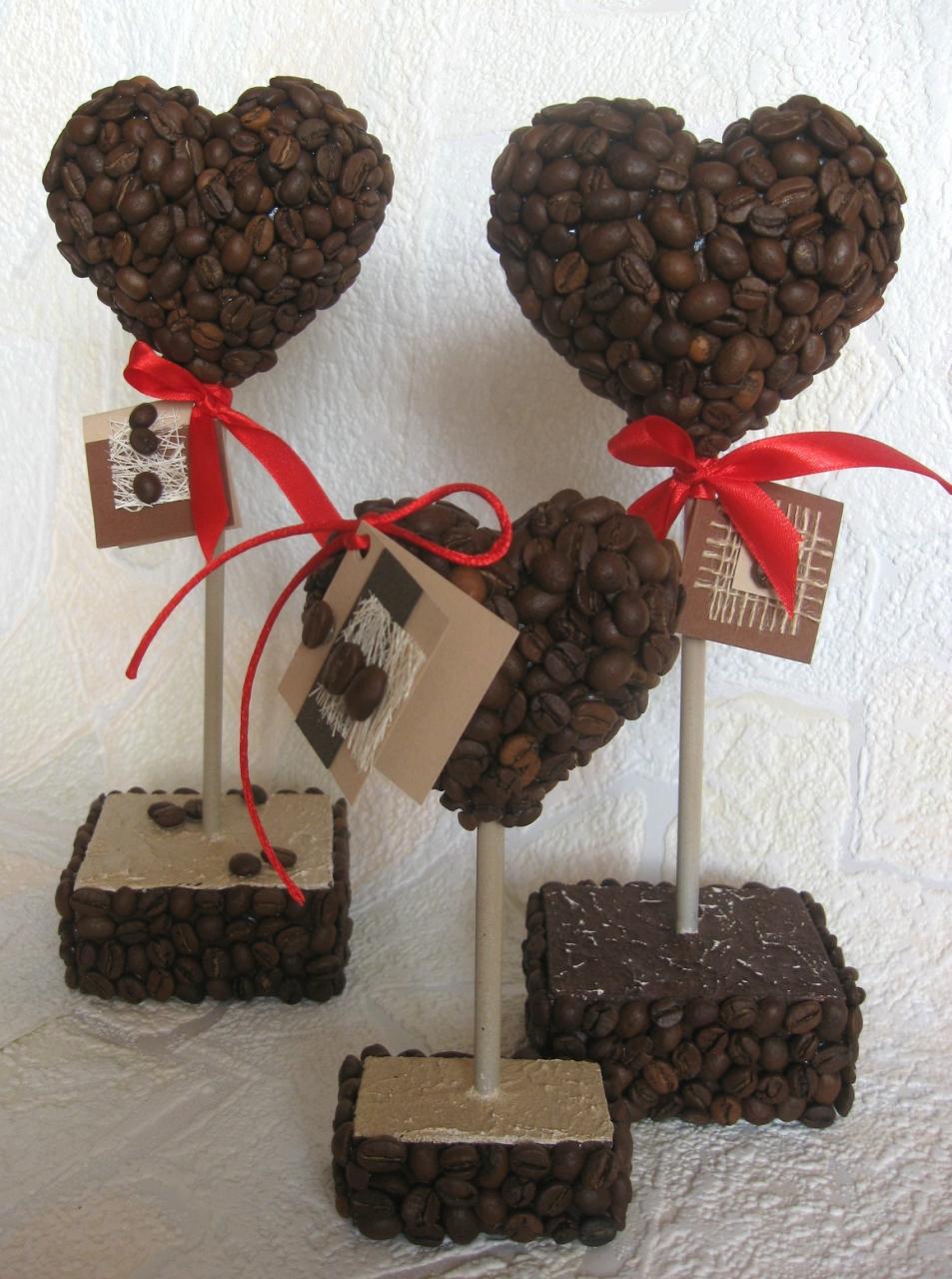 Подарок на 14 февраля своими руками из кофе
