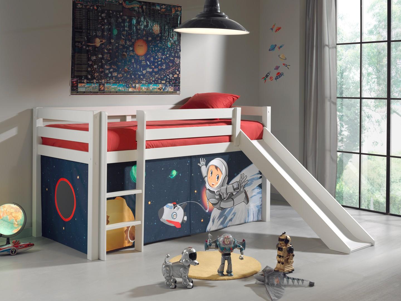 Кровать чердак космос