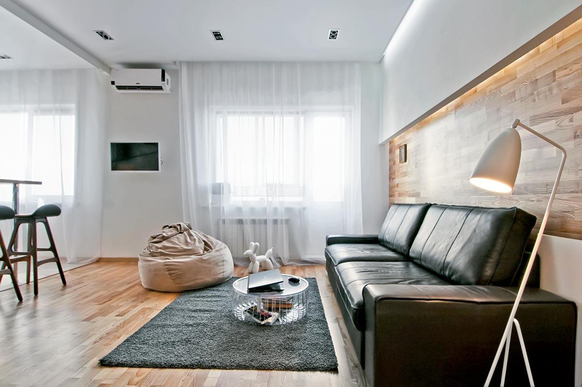 Как расставить мебель в однокомнатной квартире лаконично