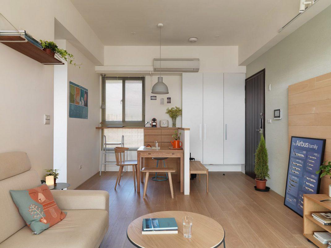 Японский интерьер маленькой квартиры