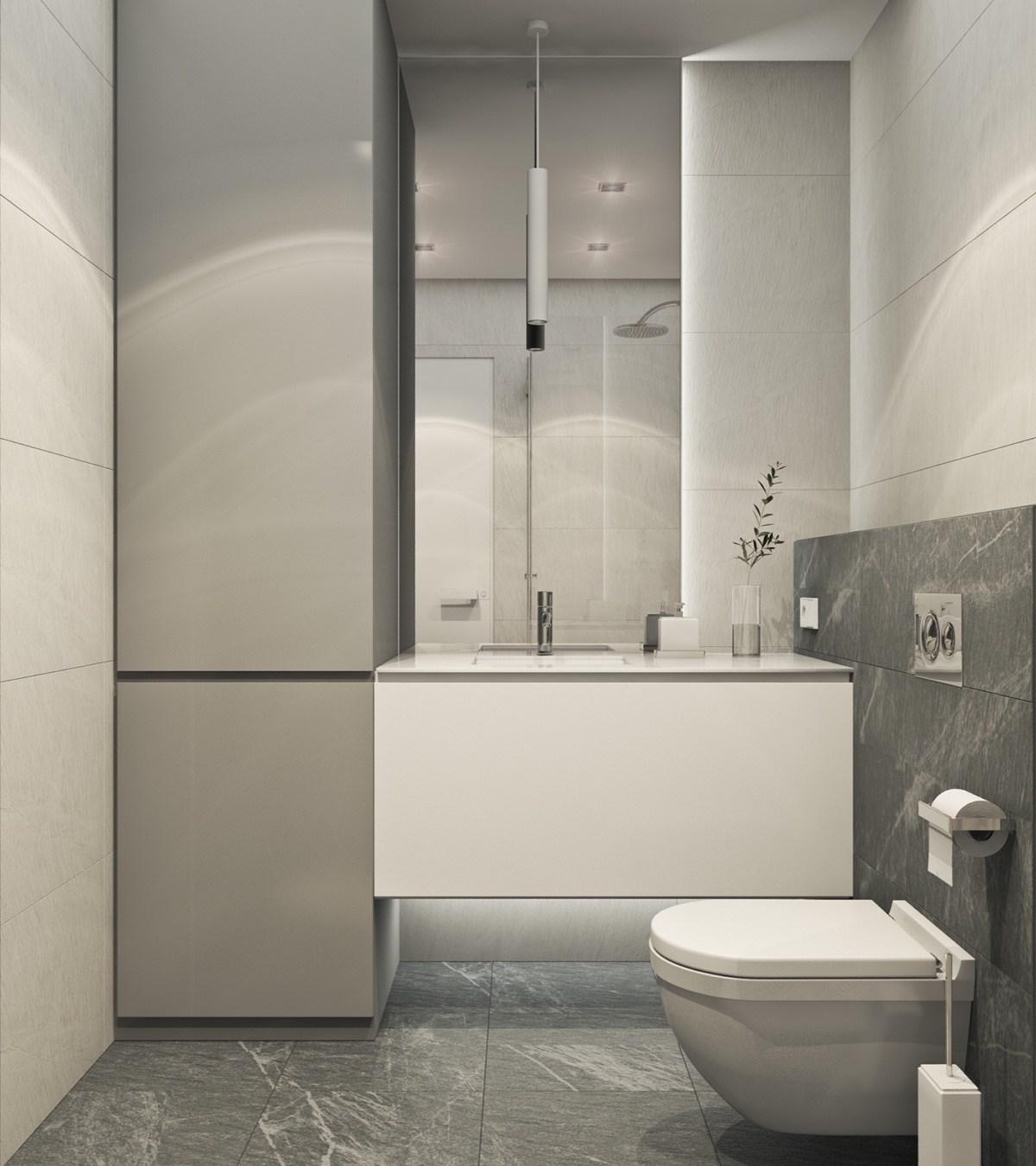 Ванная своими руками в стиле минимализм
